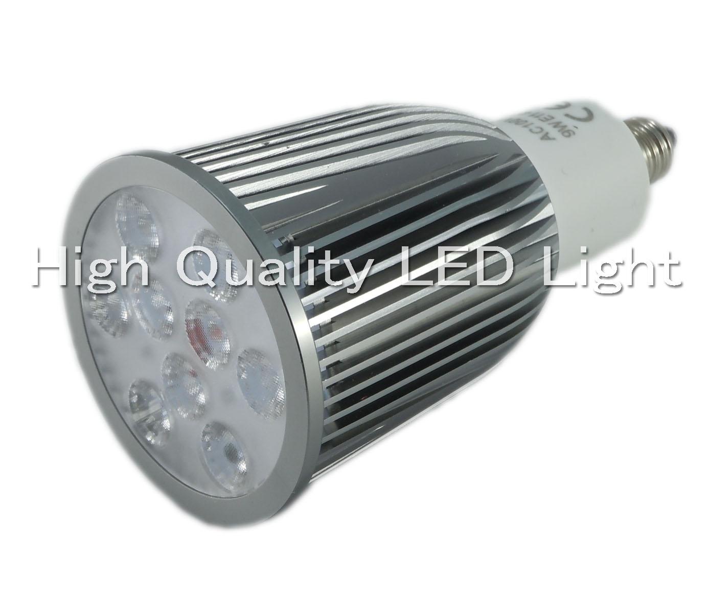 画像1: LEDスポットライト9W調光対応 口金... LEDスポットライト9W調光対応 口金E