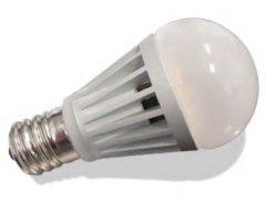 画像1: LED電球5W調光対応(クリプトン球タイプ) 口金E17 白色 50W相当