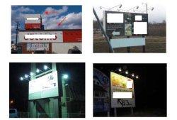 画像3: 屋外用LEDライト20W 200W相当形 + ショートアーム(アーム長さ  312mm)店舗照明・看板照明