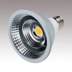 画像1: 【2年保証】高演色LEDスポットライト10W 口金E26 100W相当 (電球色相当)