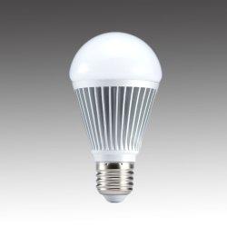 画像1: 【2年保証】LED電球9W調光対応 口金E26 電球色 60W相当