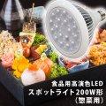 【New】食品用高演色LEDスポットライト200W形(惣菜用)