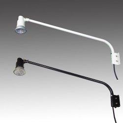 画像1: 【2年保証】屋外用LEDライト12W120W相当形 アームセット(アーム長965mm)