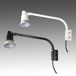 画像1: 屋外用LEDライト16W 160W相当形 + ショートアーム(アーム長さ  465mm)