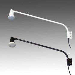 画像1: 【2年保証】屋外用LEDライト20W 200W相当形 アームセット(アーム長965mm)