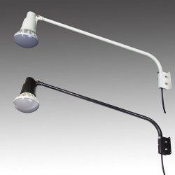 画像1: 【2年保証】屋外用LEDライト40W 口金E39 400W相当形 アームセット(アーム長965mm)
