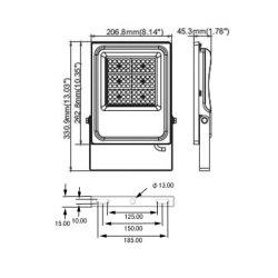 画像4: LED投光器50W 500W相当形 屋内外兼用 ※2年保証