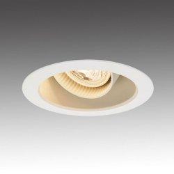 画像1: ユニバーサルダウンライト器具+LEDスポットライト6W 50W相当形